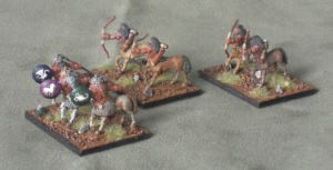 Centaur allies of the Dwarves.