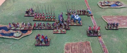 The situation at the end. Not a single companion cavalryman left!